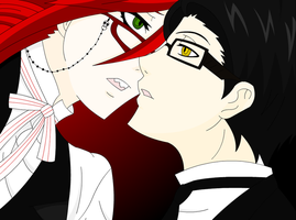 Grell X William by MariksKitten