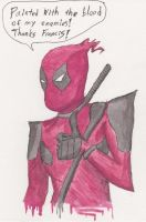 Day 42 Deadpool by i---D---i