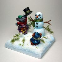 Mouslings painted by MetalChaos by newboldworld