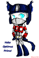 Optimus-kitty :3 by skyrore1999