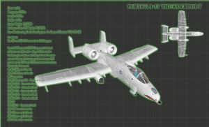 A-10 Thunderbolt II Factsheet by 171Scorpia