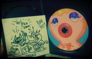 Personalised dvd sketch by Makinita