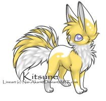 Kitsune adoptable #3-Desert Themed- CLOSED by Kurai-Uma-Adoptables