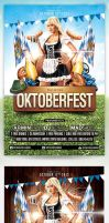 Oktoberfest Party Flyer Template by saltshaker911
