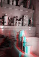 3D Anaglyph HDR Test by crazinessisay