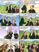 The Ten Doctors, Page 6 by eclecticmuse