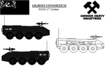 Gilbert Consortium vehicles - HAM-26 Crusher by ATTACK1942