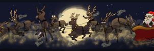 Santa Clurse is Coming to Town by NuclearLoop