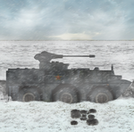 The Frost Tear -PLA WZ-551 APC  by Milosh--Andrich