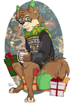 Commission - Christmas by pokeed