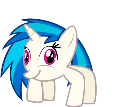 Vinyl Scratch - Spider by Nakan0i