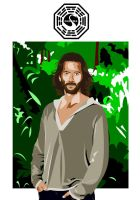 Desmond Hume by Glaudur