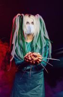 Cybergoth surgery by elenasamko