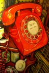 The Red Phone by outofmypen