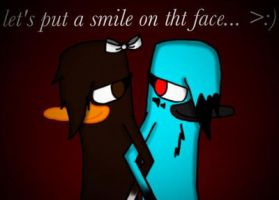 Let's put a smile on tht face by Pinkwolfly