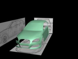 3D Audi Car Modelling by Chief-Artist-21
