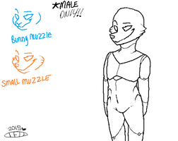 Animatronic Male Base :READ DESC BEFORE USING!!: by TheFuzzyDonut
