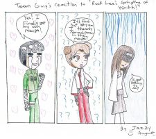 Team Gai's Reaction to RLSTOY by queenjazz225