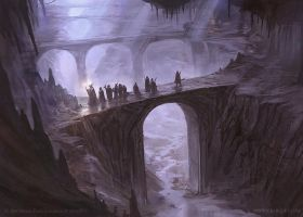 Journey in the Dark - LOTR TCG by jcbarquet