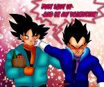 Just Shut up and be my Valentine! by TwistedxSaiyan