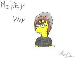 Mikey Way by FamilyGayFanGirl