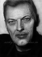 David Gilmour by GreyVic