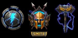 Icons for SMITE by artofjosevega