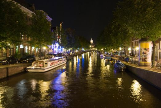 Amsterdam Canal by Karl-Dslr