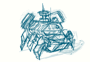 vehicle sketch 02 by ckeiji
