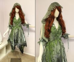 Woodland Handfasting Dress by Firefly-Path