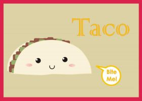 Cute Taco by natalia-factory