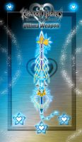 Keyblade - Ultima Weapon - by WeapondesignerDawe