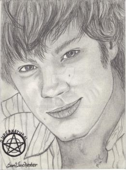 Sam Winchester by pnutdclown