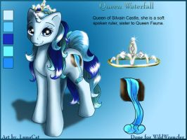 Queen Waterfall by FlyingPony