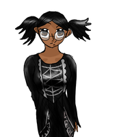 Cassandra Goth As Her Bio Says .:Gift:. by IvyDevi