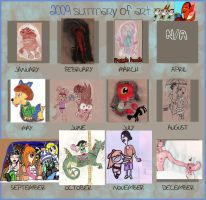 2009 Summary of Art by AlicornMoonstar