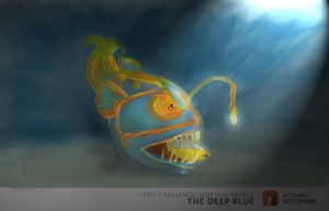 TheDeep BLUE by phoenixdee