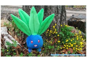 wild Oddish appeared by Feneksia-Creations