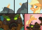 MLP Applejack custom Story part 2 by wolfmarian