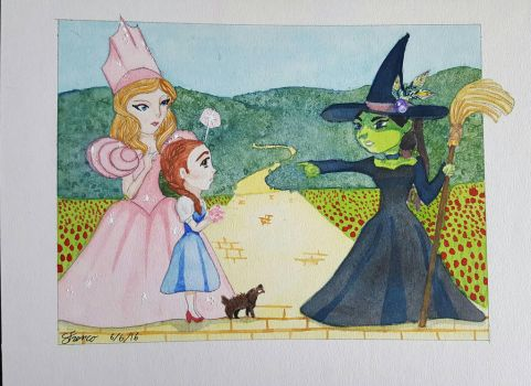 wizard of oz by ladydevilman