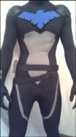 YJ:nightwing WIP by InsertWittyWords