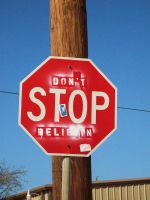 stop sign III by forgetmenow
