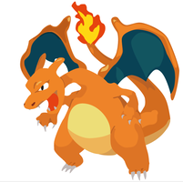 Charizard illustration by DickensMr