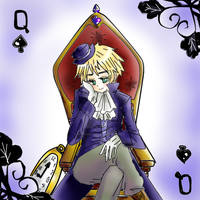 Queen of spades by Mi-chan4649