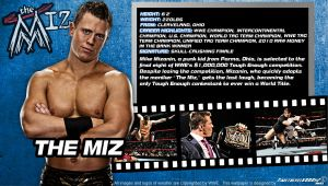 WWE The Miz ID Wallpaper Widescreen by Timetravel6000v2
