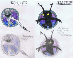 Heartless and Nobodies by ConkerTSquirrel