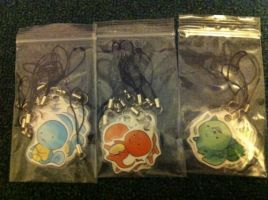 Kanto Phone Charms by ItsRei