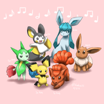 The Musical Six by Bluekiss131