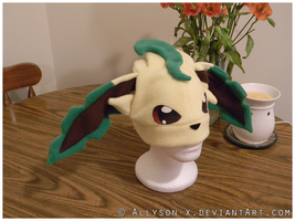 Leafeon Hat by Allyson-x