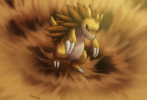 028 Sandslash by PokeGirl5